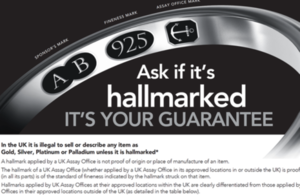 New Hallmarking Dealer's Notice to be introduced