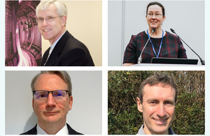 Four new directors complete UKAEA's new look executive team