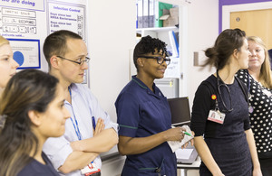 Press release: Record numbers of doctors and 14,813 more nurses working in the NHS