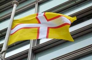 Dorset county honoured as flag flies over government