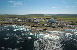 Major contract to support next stage of Dounreay clean up
