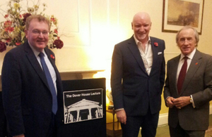 Sir Tom Hunter delivers annual Dover House Lecture