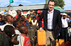 Wharton: UK reiterates its commitment to the DRC