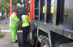 Better co ordination to stop illegal waste carriers