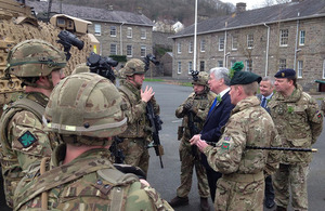 Army's future is secure in Brecon