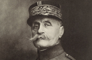 Centenary of the Appointment of Marshal Foch commemorative event on 26 March