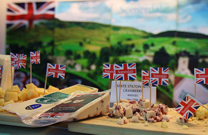 Food and drink export sales soar in Brexit boost