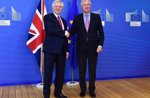 David Davis' opening remarks at the start of EU exit negotiations in Brussels
