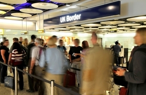 Customers going to the UK for longer than 6 months
