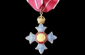 2017 New Year Honours for health and social care services