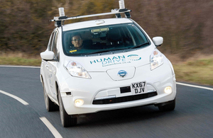 Case study: Humandrive: vehicle completes 230 mile, self navigated drive across the UK