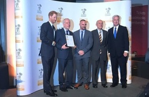 Defence Secretary and Prince Harry Award Gold to Supportive Employers