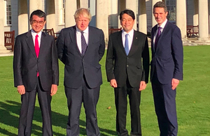 UK and Japan strengthen defence ties