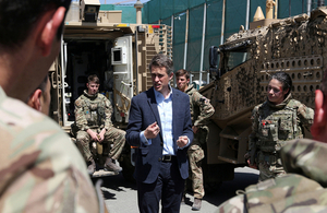 UK bolsters support to NATO mission in Afghanistan