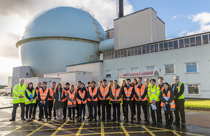 Japanese delegation visits Dounreay