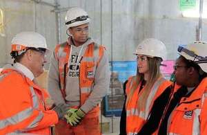 Skills Minister and Crossrail's 600th apprentice mark the start of 'Tomorrow's Engineers Week'