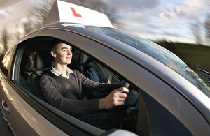 Green light for driving lessons on motorways