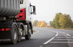 Drivers' hours: changes to fines for commercial drivers