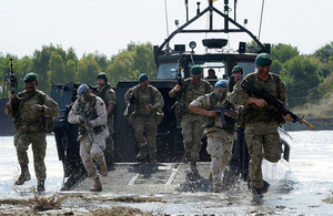 Royal Marines to be restructured in line with growing Royal Navy