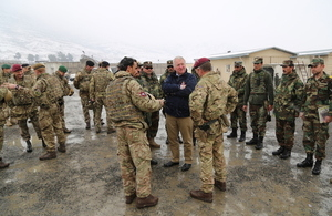 Armed Forces Minister confirms increase in support to Afghanistan