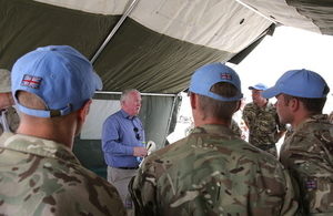 British troops continue support to UN South Sudan mission