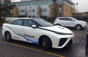 Government launches £2 million competition to promote roll out of hydrogen fuelled fleet vehicles