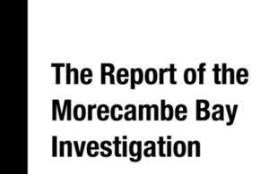 Morecambe Bay Investigation Report published