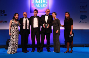 DVSA wins top digital award for collaboration