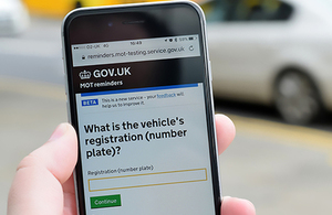 New MOT reminder service launches in beta