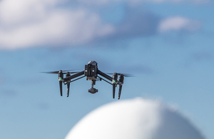 Dounreay switches to drones