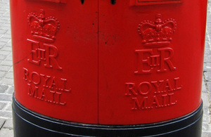 Removal of Royal Mail postal redirect from 10 August