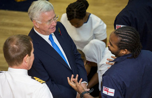 Defence Secretary commits to boost diversity in the Armed Forces
