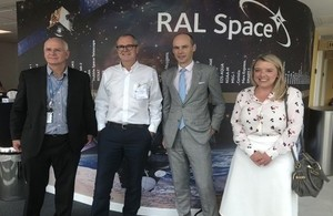 UK Space Agency hosts Government Chief Scientific Adviser