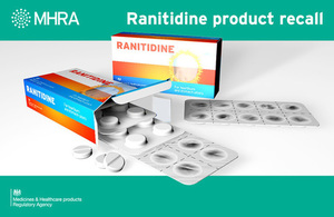 Press release: Ranitidine Oral Solution and Tablets recall