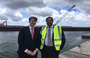 Minister Robin Walker visits the South West