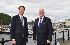 Brexit Minister Robin Walker visits the Crown Dependencies