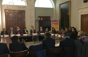 DIT roundtable boosts UK business opportunities in Pakistan
