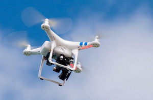 New drone safety partnership with business launched as government sets out plans to limit drone misuse