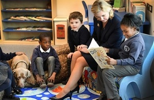 Education Secretary visits School of the Year