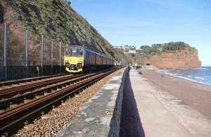 Government announces £10 million funding for rail resilience in the south west