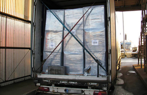 Border Force seize 22 tonnes of tobacco at Hull docks
