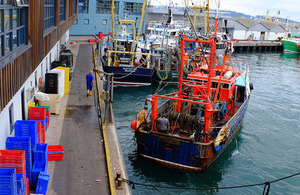 Minister urges UK fishermen to sign up for safety improvements