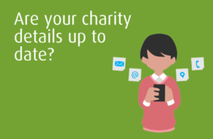 Update your charity details: improved service coming soon