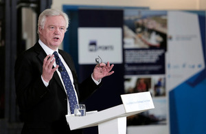 David Davis' Teesport Speech: Implementation Period – A bridge to the future partnership between the UK & EU