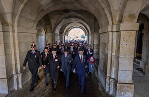 £22.7 Million awarded to support older veterans