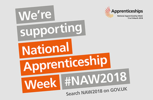 A new apprenticeship programme kicks off National Apprenticeship Week 2018