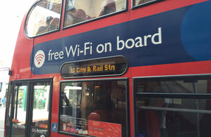 Millions of commuters now using Government's free Wi Fi on public transport