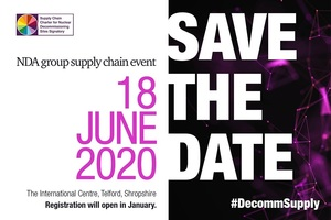 Hold the date for the NDA Supply Chain Event at a new venue in 2020