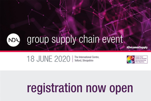 The NDA Supply Chain Event – the largest of its kind in Europe – launches its registration today.